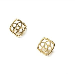 Kendra Scott Logo Earrings